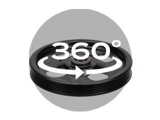 300-148 OE Solutions OE Power Strg Pump Pulley   Dorman