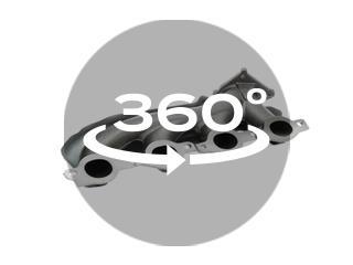 Left Exhaust Manifold Kit w// Hardware /& Gaskets Dorman 674-522