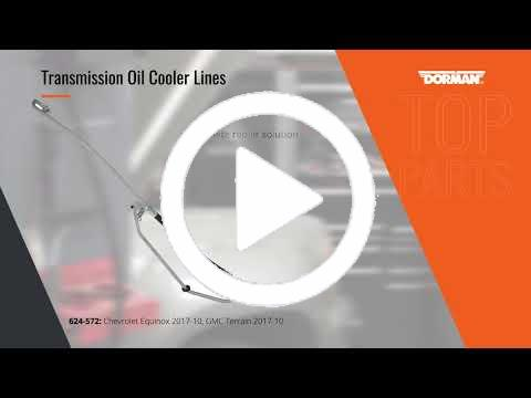 NEW Dorman Auto Trans Oil Cooler Line Lower Rear 624-225 Ford F150 4R70W 1997-04