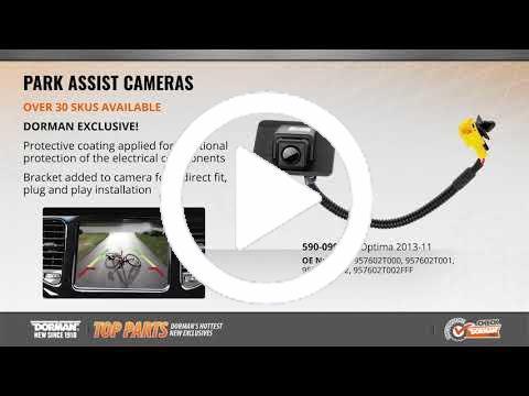 Dorman 590-135 Rear Park Assist Camera for Select Toyota Models