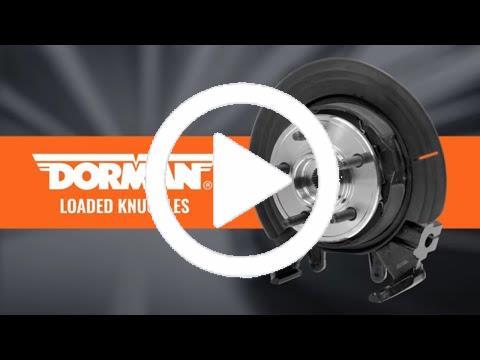 Dorman 698-381 Front Driver Side Loaded Steering Knuckle for Select Toyota Models
