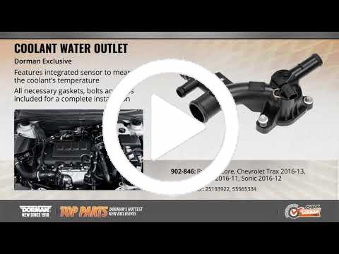 Dorman Products 902-975 Water Outlet Housing  12 Month 12,000 Mile Warranty