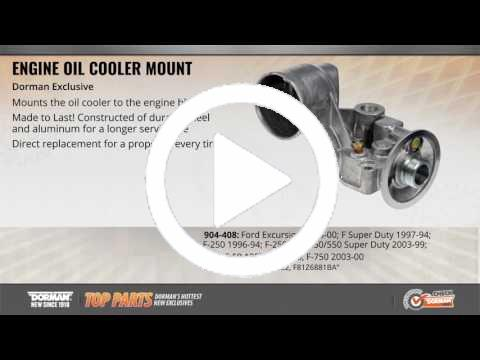 Dorman # 904-408 Oil Cooler Mount Rr.