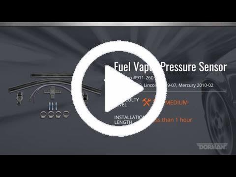 Fuel Pressure Sensor Dorman 911-260