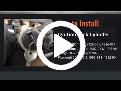 New Ignition Lock Cylinder Ram Truck Van Dodge Durango 3500 B2500 B3500 B1500 97