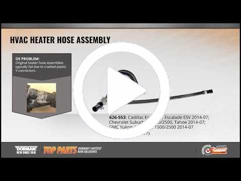 Lincoln Models Dorman 626-644 Engine Heater Hose Assembly for Select Ford